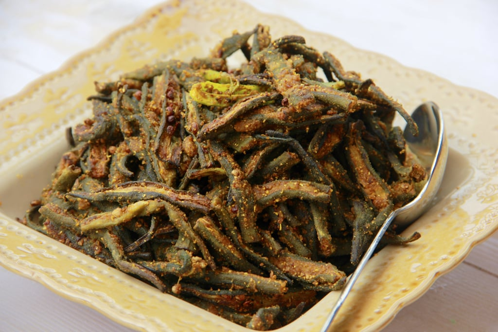 Chatpati Bhindi Okra Made In Air Fryer