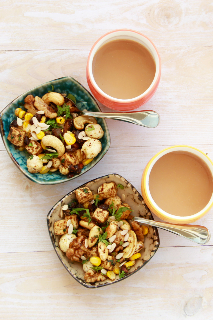 Dry Fruit Chaat Or Mewe Ki Chaat Recipe Kitchen Fables