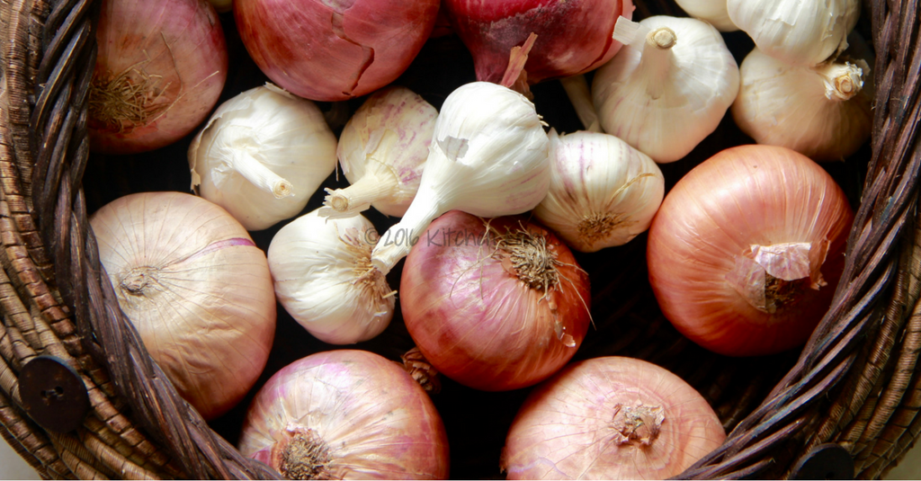 Image result for onion and garlic