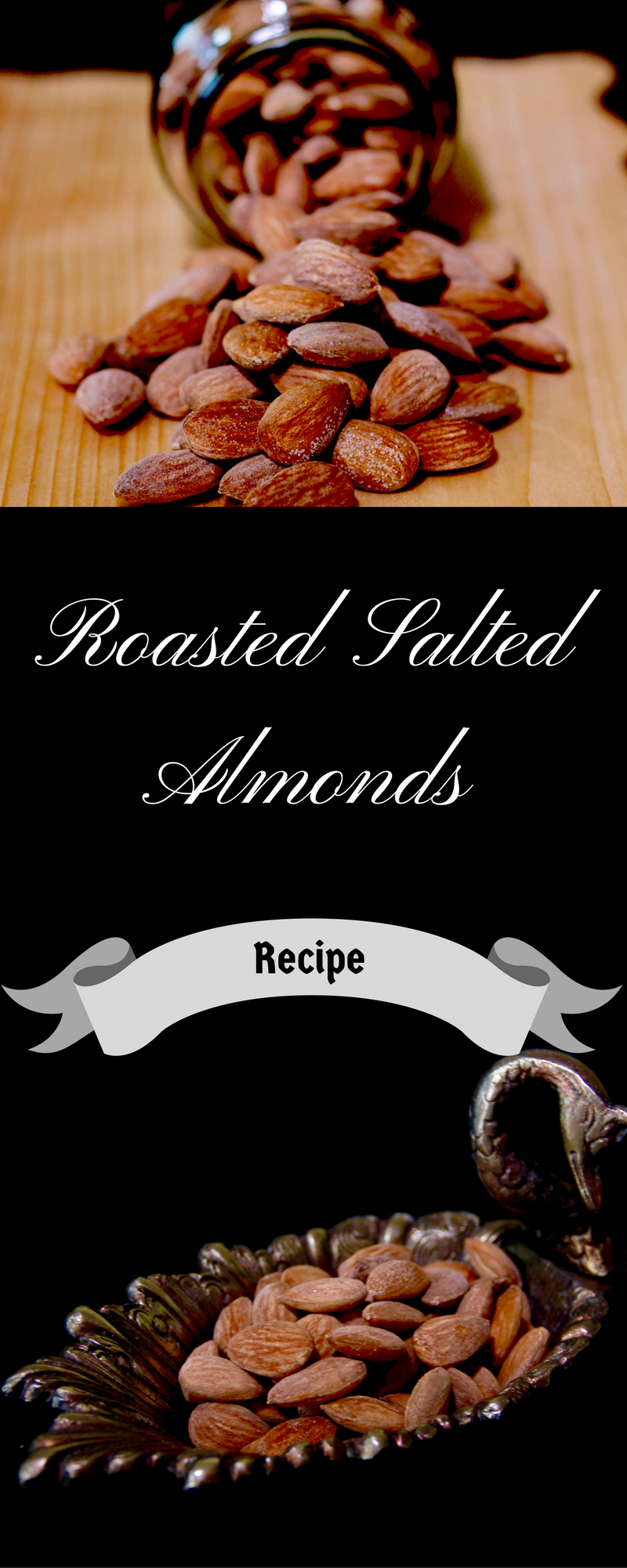 Maple Roasted Salted Almonds {Vegan, GF} - Vibrant Plate